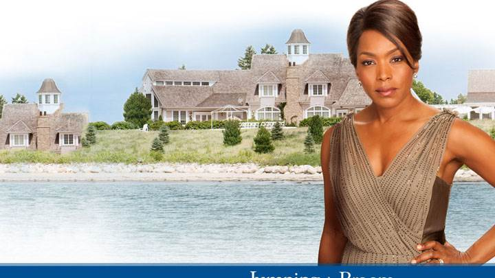 Jumping The Broom – Angela Bassett In Modeling Pose