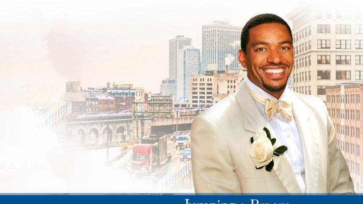 Jumping The Broom – Laz Alonso Smiling In White Coat