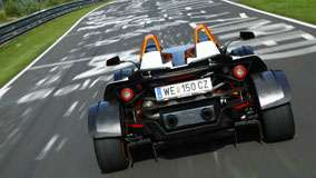 KTM X-Bow Back Pose Racing