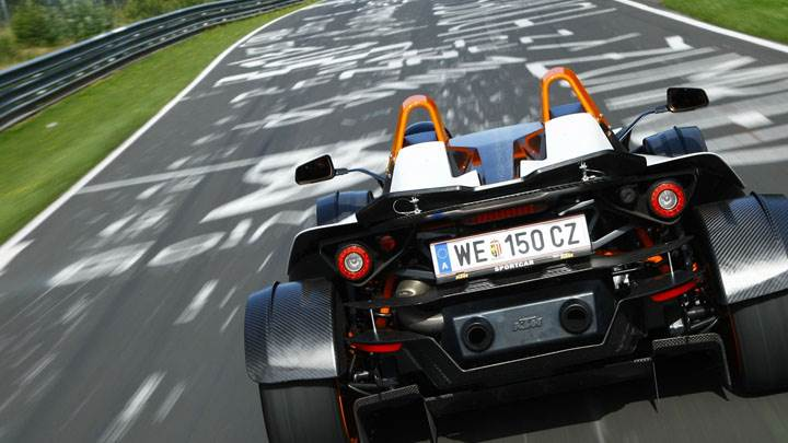KTM X Bow Back Pose Racing