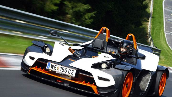 KTM X-Bow Front Picture
