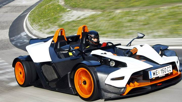 KTM X Bow Running On Race Cource