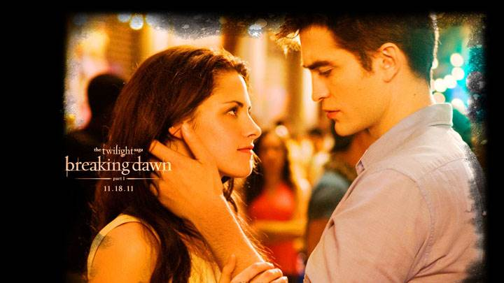 Kristen Stewart And Robert Pattinson In Romantic Mood