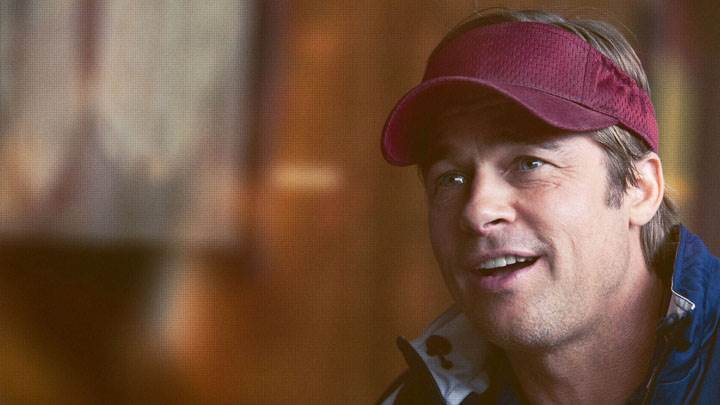 Moneyball – Brad Pitt Smiling Face Closeup