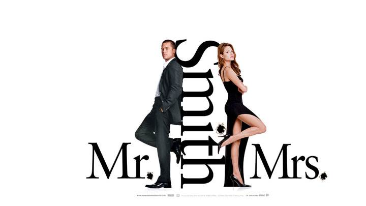 Mr. And Mrs. Smith – Movie Cover Poster
