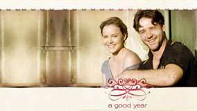 Russell Crowe And Abbie Cornish Smiling Photoshoot