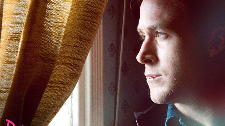 Ryan Gosling Looking Outside Window