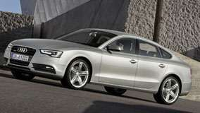 Side Front Pose of 2012 Audi A5 Sportback