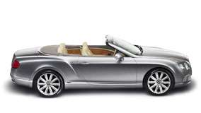Side View of 2012 Bentley Continental GTC