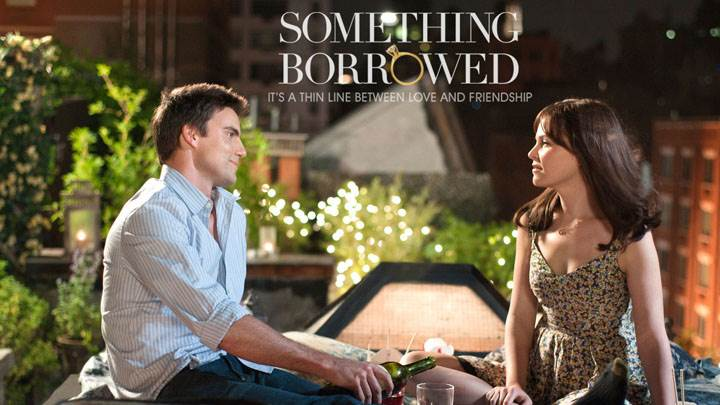Something Borrowed – Ginnifer Goodwin And Colin Egglesfield Drinking