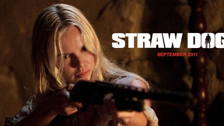 Straw Dogs – Kate Bosworth Gun In Hand