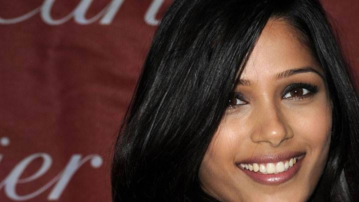 Sweet Smile Of Freida Pinto