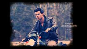 Taylor Lautner On Bike In Jacket