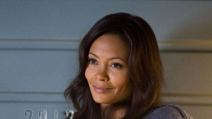 Thandie Newton Smiling Face Closeup