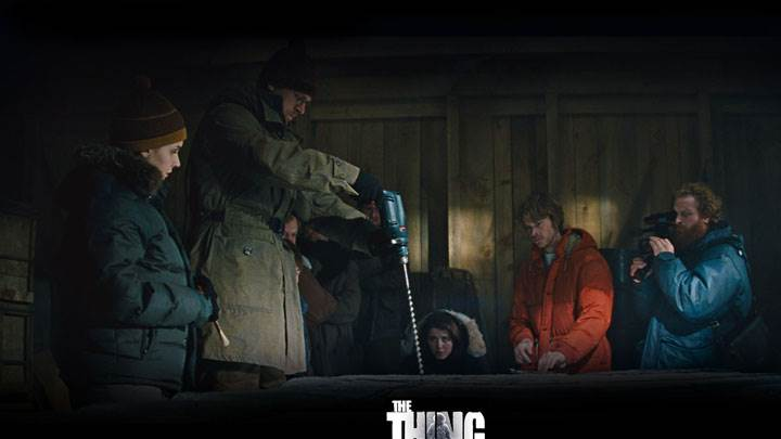 The Thing – Eric Christian Olsen, Ulrich Thomsen And Mary Elizabeth Winstead