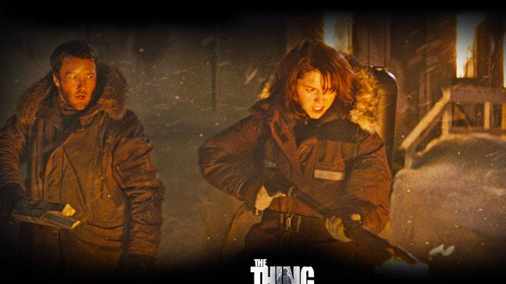 The Thing – Joel Edgerton And Mary Elizabeth Winstead