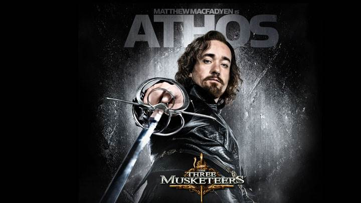 The Three Musketeers – Matthew Macfadyen Sword In Hand