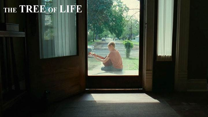 The Tree Of Life – Children Sitting Outside Door