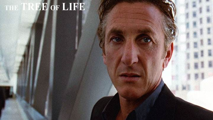 The Tree Of Life – Sean Penn Sad Face In Black Coat