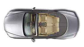 Top View of 2012 Bentley Continental GTC