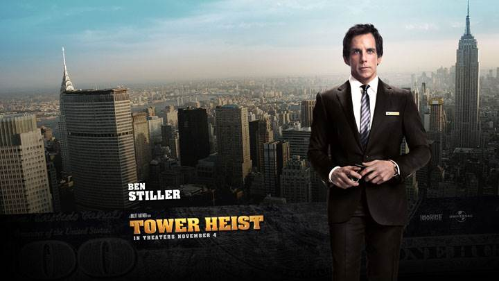 Tower Heist – Ben Stiller In Black Coat