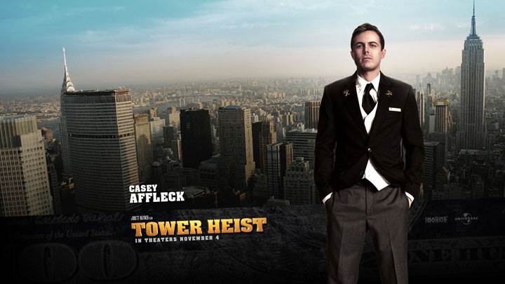 Tower Heist – Casey Affleck In Black Coat