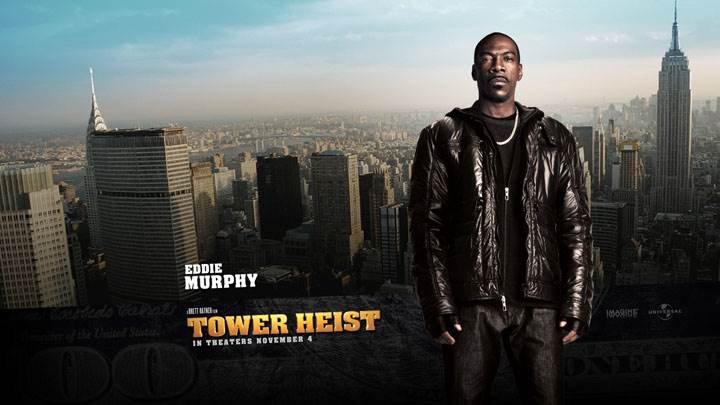 Tower Heist – Eddie Murphy In Black Jacket
