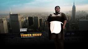 Tower Heist – Gabourey Sidibe In Black Dress