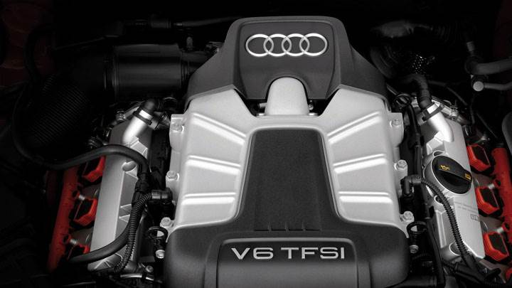 V6 TFSI Engine of 2012 Audi S5 Sportback