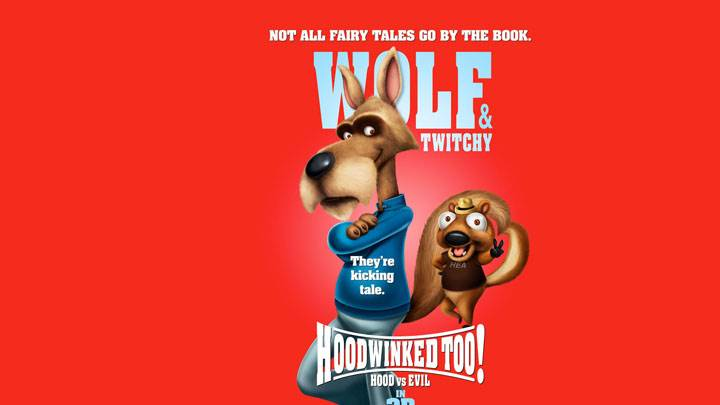 Wolf And Twitchy In Hoodwinked Too Hood Vs Evil