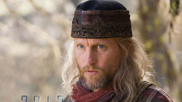 Woody Harrelson Blue Eyes And Wearing Cap