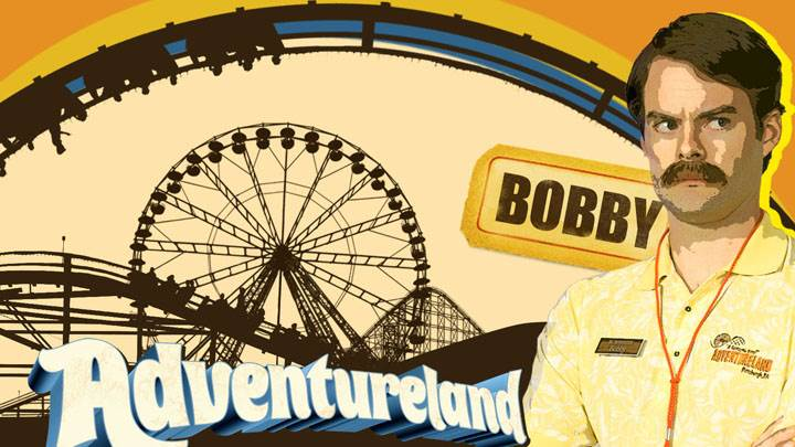 Adventureland – Bill Hader in Yellow Shirt