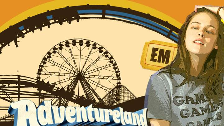 Adventureland – Kristen Stewart in Grey T-shirt