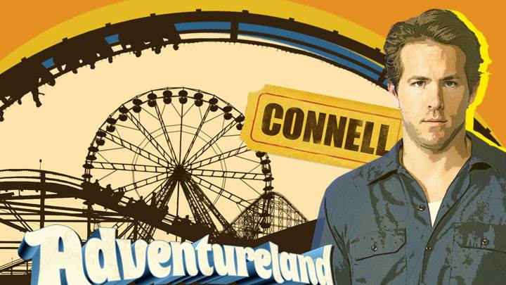 Adventureland – Ryan Reynolds In Blue Shirt
