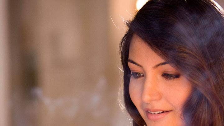 Anushka Sharma Smiling Side Face Closeup