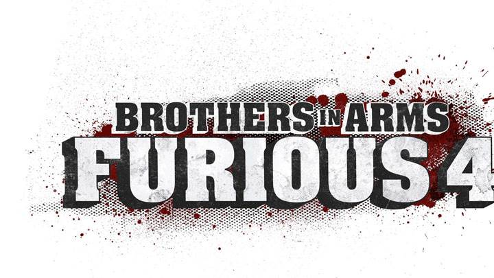 Brothers in Arms – Furious 4 Game Poster N White Background
