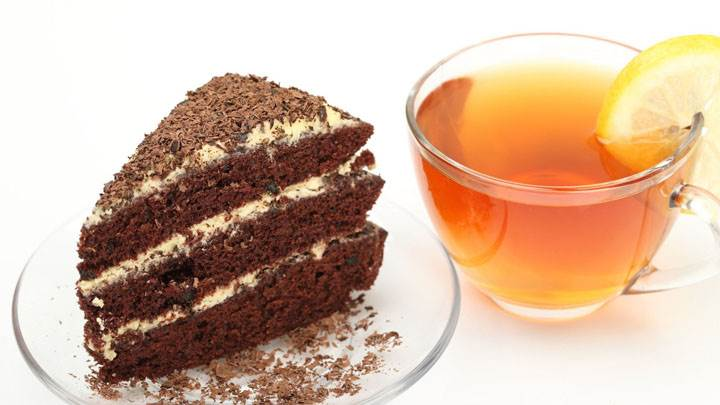 Cake And Tea – Ready To Eat And Drink