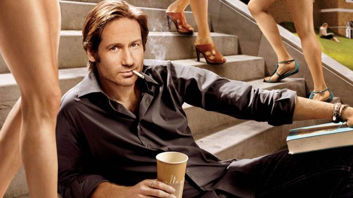 Californication – David Duchovny Sitting Pose