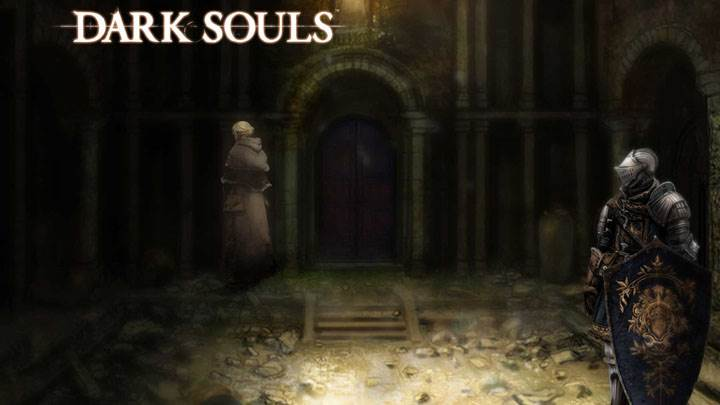Dark Souls – Crystal Beauty And Black Background