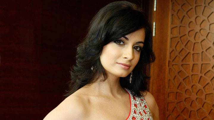 Dia Mirza Cute Looking In Modeling Pose