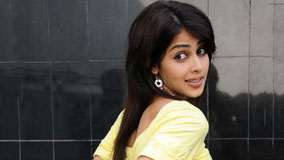 Genelia D'souza Looking Back In Yellow Top