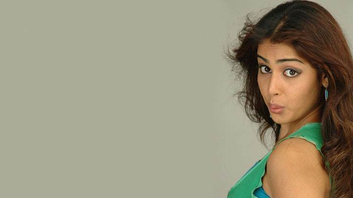 Genelia D'souza Side Pose In Green Top