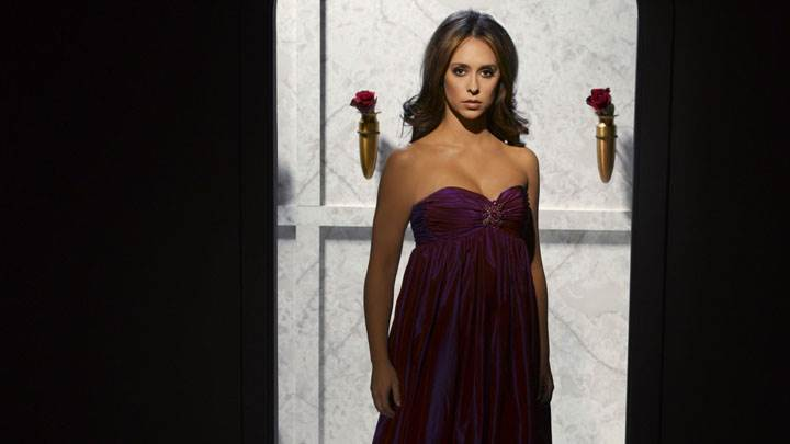 Jennifer Love Hewitt Photoshoot In Long Dress