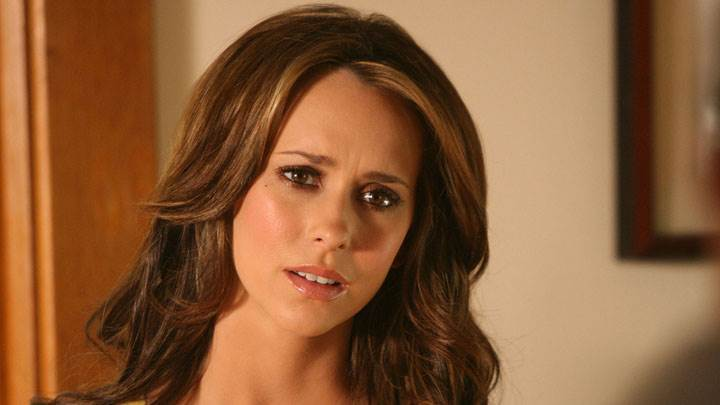 Jennifer Love Hewitt Sad Face And Wet Lips Photoshoot