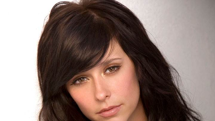 Jennifer Love Hewitt In Black Nighty Photoshoot