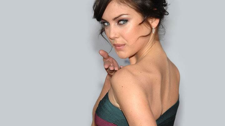 Jessica Stroup Looking Back And Cute Eyes Back Photoshoot
