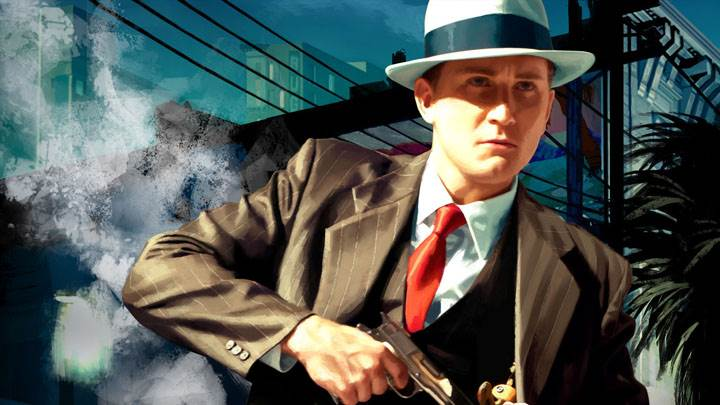 L.A. Noire – Cole Phelps Gun In Hand On The Case