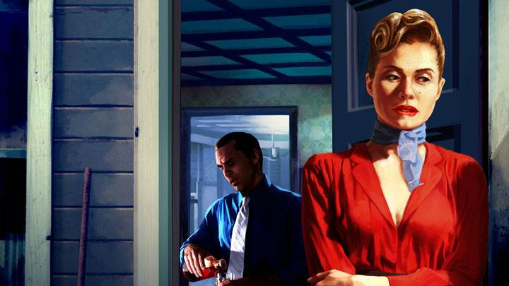 L.A. Noire – Lorna Pattison in Red Coat