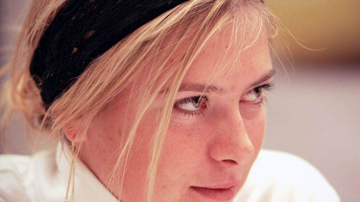 Maria Sharapova Smiling Side Cute Face Closeup