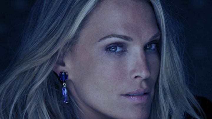 Molly Sims Smiling Side Face Closeup